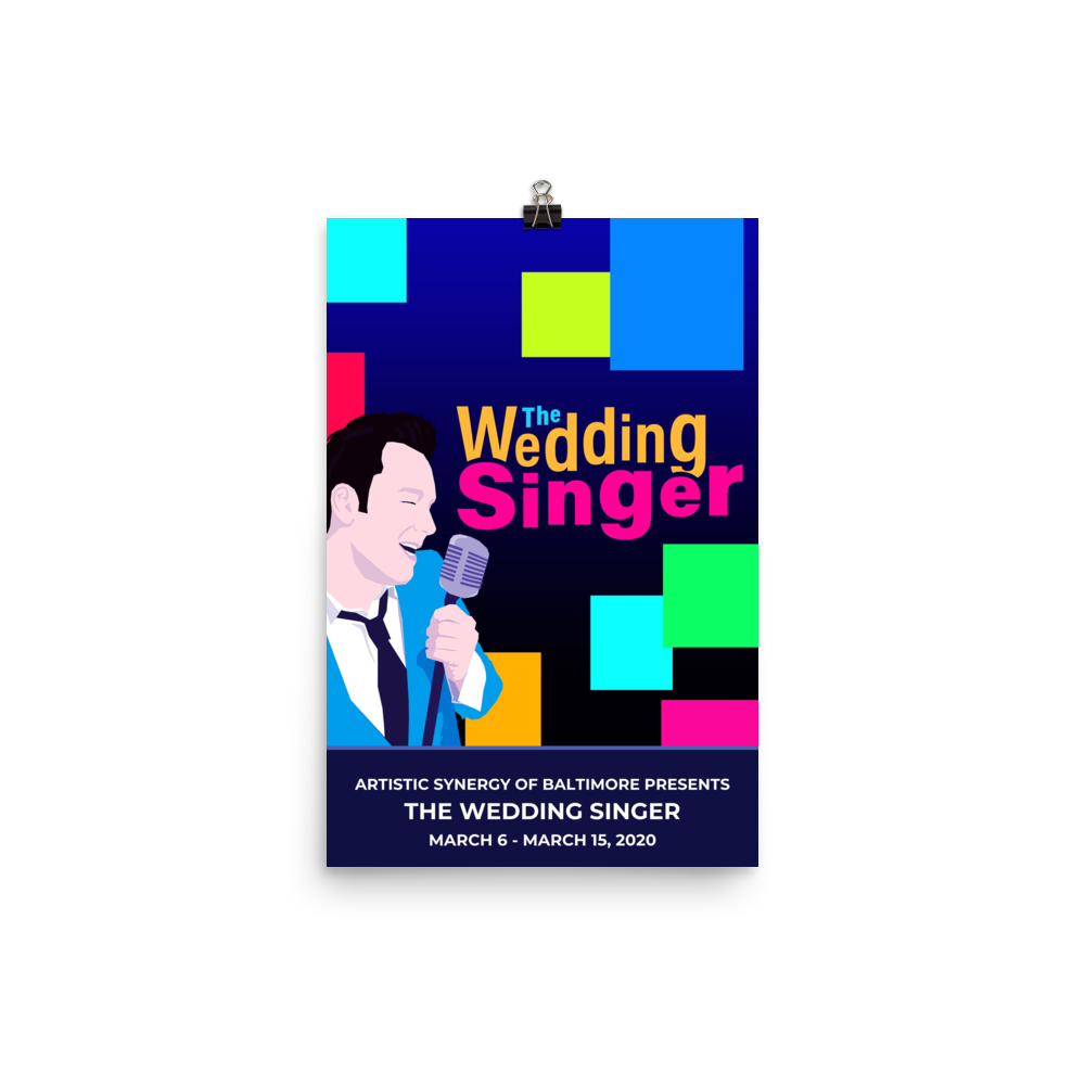 Poster - The Wedding Singer
