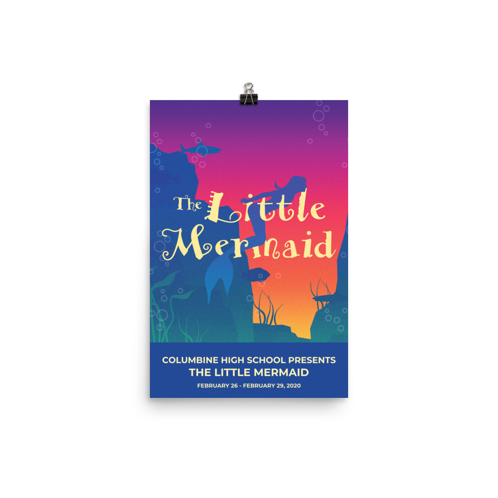 Poster - The Little Mermaid