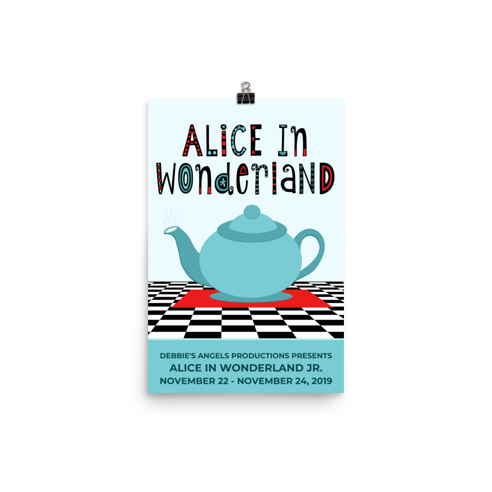 Poster - Alice in Wonderland