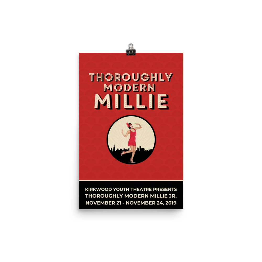 Poster - Thoroughly Modern Millie Jr.