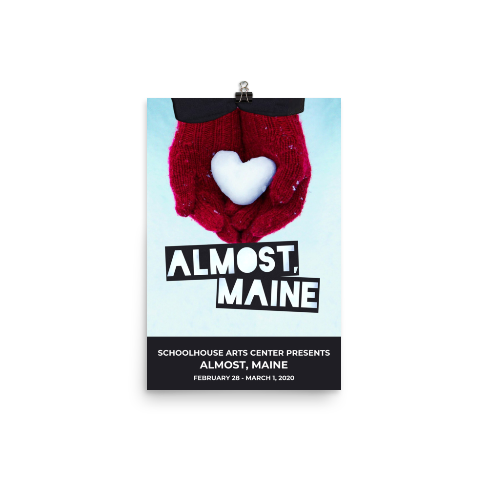 Poster - Almost, Maine