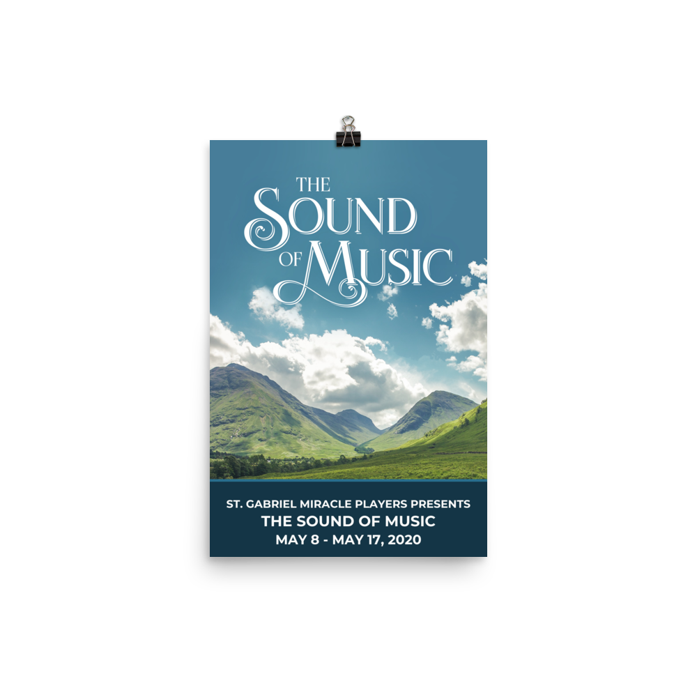 Poster - The Sound of Music