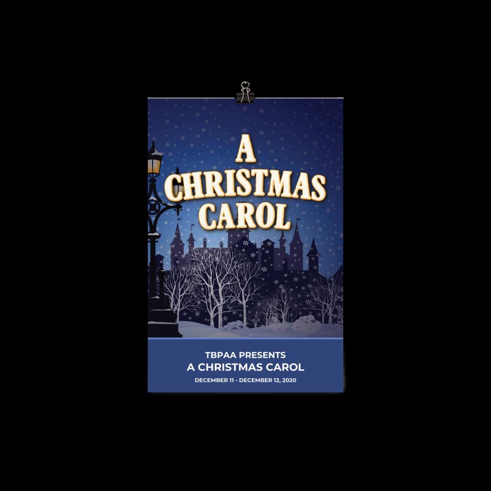 Poster - A Christmas Carol