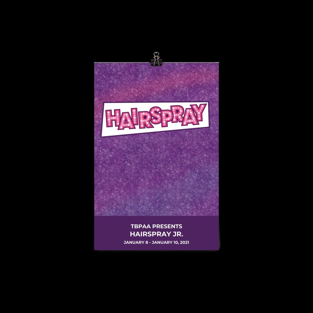 Poster - Hairspray Jr.