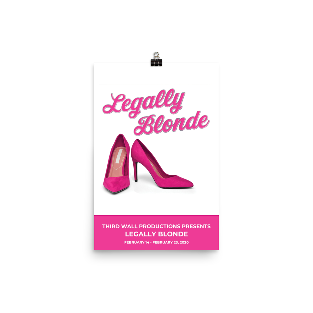 Poster - Legally Blonde